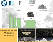 Opt Tradesate Overseas Pvt Ltd for Superior Fly Ash which makes a powe