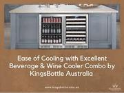 Buy wine & beer refrigerator combo online at KingsBottle